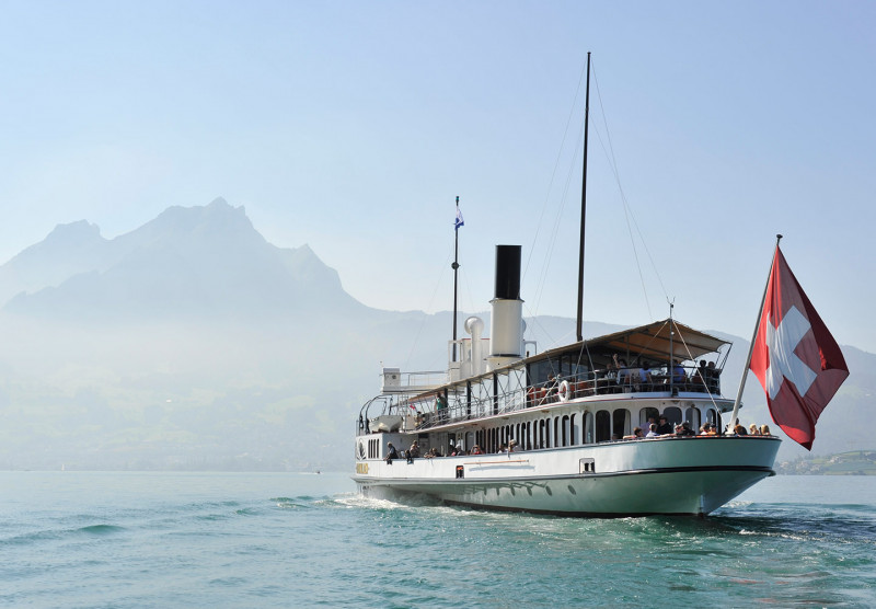 Lake Lucerne Day Ticket